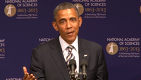 Video: President Obama Stresses the Importance of Science, Technology at NAS Annual Meeting
